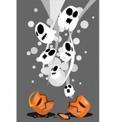 Halloweenposter vector image