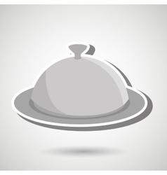 tray of food design vector image vector image