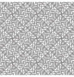 Abstract striped textured geometric seamless vector image