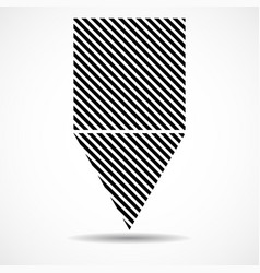 abstract triangle and square lines geometric vector image