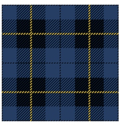 Blue Tartan Plaid Design vector