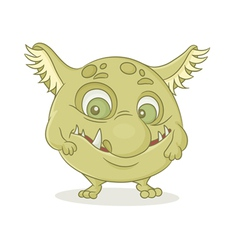 character monster vector image vector image