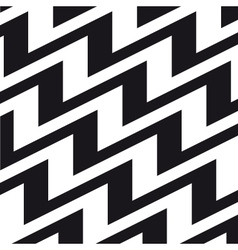 chevron background black white vector image