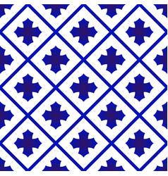 Cute ceramic pattern vector