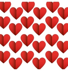 Heart love decoration icon vector