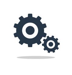 icon gears vector image