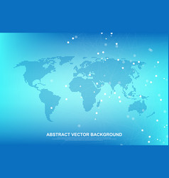 internet connection background abstract sense of vector image