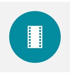 photo film icon vector image vector image