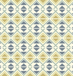 Seamless geometric ethnic pattern vector image