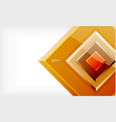 Square geometrical background vector