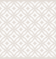subtle diamonds seamless pattern white and beige vector image