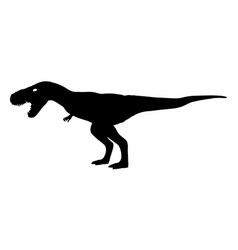 Tyrannosaurus rex t-rex is walking and vector