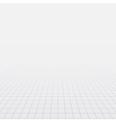 Background with perspective grid vector