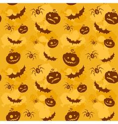 Halloween seamless background big vector image vector image
