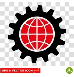 Global Options Eps Icon vector image vector image