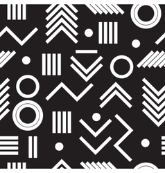 Geometric minimal seamless abstract pattern vector