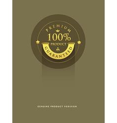 Gold Premiun vector