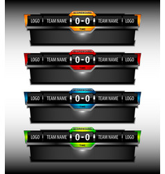 Scoreboard object vector