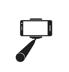 Selfie stick icon concept for design vector