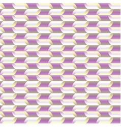 Stylized leavesmosaic geometric seamless pattern vector