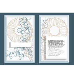 abstract template5 vector image