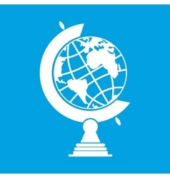 Nice earth globe vector image vector image