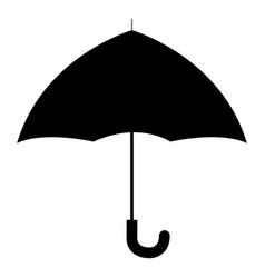 umbrella open isolated icon vector image