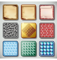 Apps icons set vector