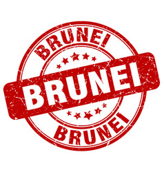 Brunei stamp vector