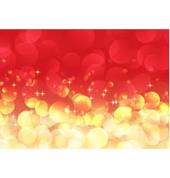 christmas bokeh lights background vector image