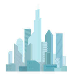 city future building skyscraper architecture vector image