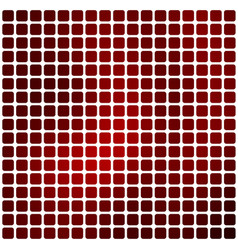 Deep burgundy red rounded mosaic background over vector