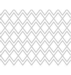 gray pattern with rhombuses grey mesh background vector image