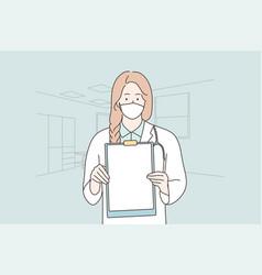 healthcare medicine coronavirus infection vector image