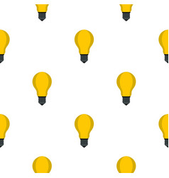 Lamp with yellow light pattern seamless vector