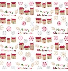 Merry christmas print vector