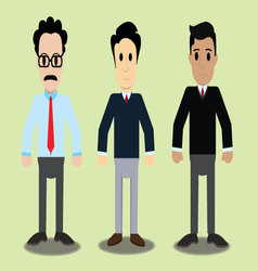 Three Characters vector