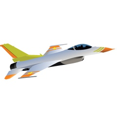 Jet fighter plane vector image vector image