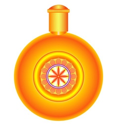 Round flask vector image