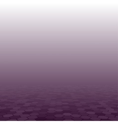 Purple mosaic tile comb background perspective vector