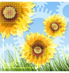 Summer mechanics vector image vector image