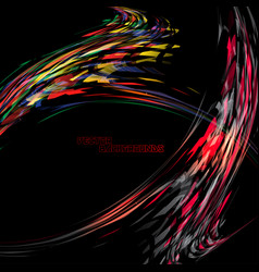 Abstract colors geometry motion concepts vector