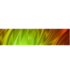 Abstract shiny colorful waves banner design vector