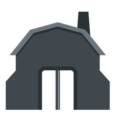 blacksmith workshop building icon isolated vector image