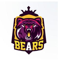 Colorful logo badge sticker emblem vector