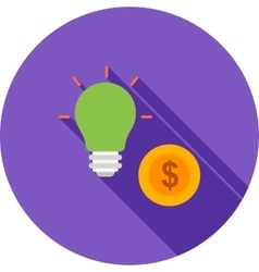 Convert Idea into Money vector