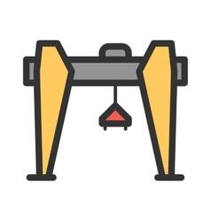 Crane I vector