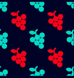 Grape simple seamless pattern vector