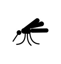 Mosquito Icon Flat vector