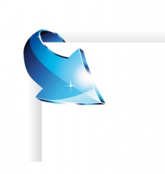 Page arrow vector